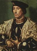 Jan Gossaert Mabuse Portrait of Baudouin of Burgundy a oil on canvas