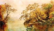Jasper Cropsey Seclusion oil on canvas