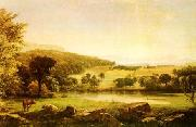 Jasper Cropsey Serenity oil on canvas