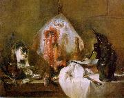 Jean Baptiste Simeon Chardin The Skate oil on canvas