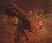 Jean Francois Millet Faggot Carriers oil painting
