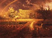 Jean Francois Millet spring oil painting reproduction