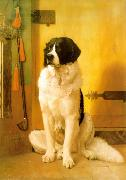 Jean Leon Gerome Study of a Dog oil painting reproduction