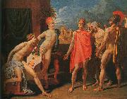 Jean-Auguste Dominique Ingres The Ambassadors of Agamemnon in the Tent of Achilles china oil painting artist