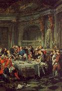 Jean-Francois De Troy The Oyster Lunch oil painting reproduction