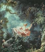 Jean-Honore Fragonard The Swing oil on canvas