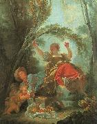 Jean-Honore Fragonard The See-Saw oil on canvas