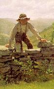 John George Brown The Berry Boy china oil painting artist