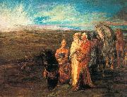 John La Farge Halt of the Wise Men painting