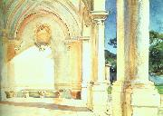 John Singer Sargent Villa Falconieri oil painting reproduction