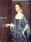 John Singleton Copley Mrs Daniel Sargent oil on canvas