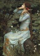 John William Waterhouse Ophelia oil painting artist