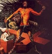 Jose Clemente Orozco Modern Migration of the Spirit oil on canvas