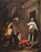 Joseph Benoit Suvee Death of Admiral de Coligny oil painting reproduction