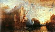 Joseph Mallord William Turner Ulysses Deriding Polyphemus oil painting