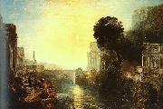 Joseph Mallord William Turner Dido Building Carthage oil on canvas