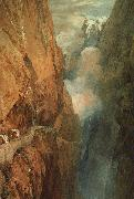 Joseph Mallord William Turner The Passage of the St.Gothard oil on canvas