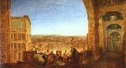 Joseph Mallord William Turner Rome from the Vatican oil on canvas