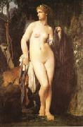 Jules Elie Delaunay Diana oil painting reproduction