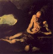 Jusepe de Ribera Saint Paul the Hermit oil