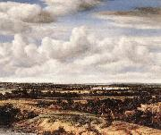KONINCK, Philips Panorama View of Dunes and a River g oil painting reproduction