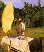 Karoly Ferenczy October painting