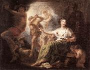 LENS, Andries Cornelis Hercules Protects Painting from Ignorance and Envy s painting