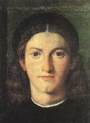 LOTTO, Lorenzo Head of a Young Man g painting