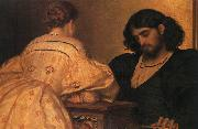 Lord Frederic Leighton Golden Hours oil