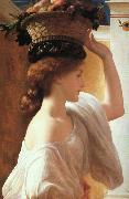 Lord Frederic Leighton Eucharis oil