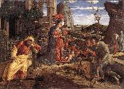 MANTEGNA, Andrea The Adoration of the Shepherds sf oil painting