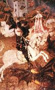 MARTORELL, Bernat (Bernardo) Saint George Killing the Dragon oil on canvas
