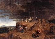 MASSYS, Cornelis Crucifixion dh oil on canvas