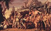 MOEYAERT, Claes Cornelisz. Triumph of Bacchus ga oil on canvas