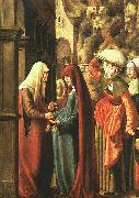 Marx Reichlich The Visitation oil