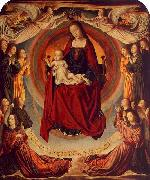 Master of Moulins Coronation of the Virgin oil painting reproduction