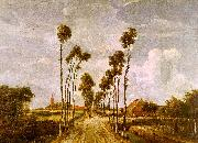 Meindert Hobbema Avenue at Middleharnis oil on canvas