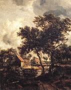 Meindert Hobbema The Water Mill oil painting reproduction