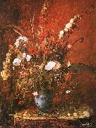 Mihaly Munkacsy Large Flower Piece oil painting reproduction