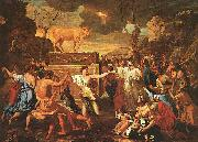 Nicolas Poussin The Adoration of the Golden Calf china oil painting artist