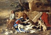 Nicolas Poussin Lamentation over the Body of Christ oil painting reproduction