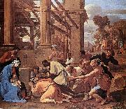 Nicolas Poussin Adoration of the Magi oil painting reproduction