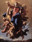 Nicolas Poussin The Assumption of the Virgin oil painting reproduction