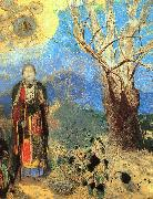 Odilon Redon The Buddha oil