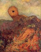 Odilon Redon The Cyclops oil