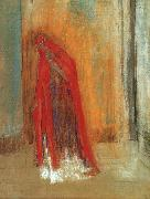 Odilon Redon Oriental Woman oil