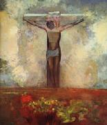 Odilon Redon Crucifixion oil painting reproduction
