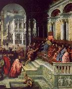 Paris Bordone Presentation of the Ring to the Doges of Venice oil on canvas