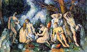Paul Cezanne The Large Bathers oil on canvas