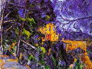Paul Cezanne Le Chateau Noir oil on canvas